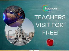 Nauticus Lauds Teachers: Offers Unlimited Free Admission