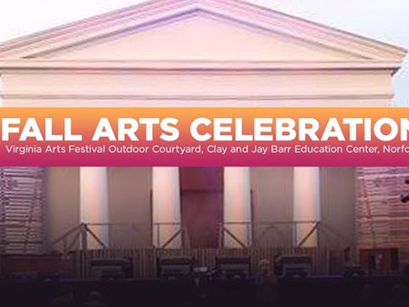 Virginia Arts Festival Announces Fall Arts Celebration Concerts