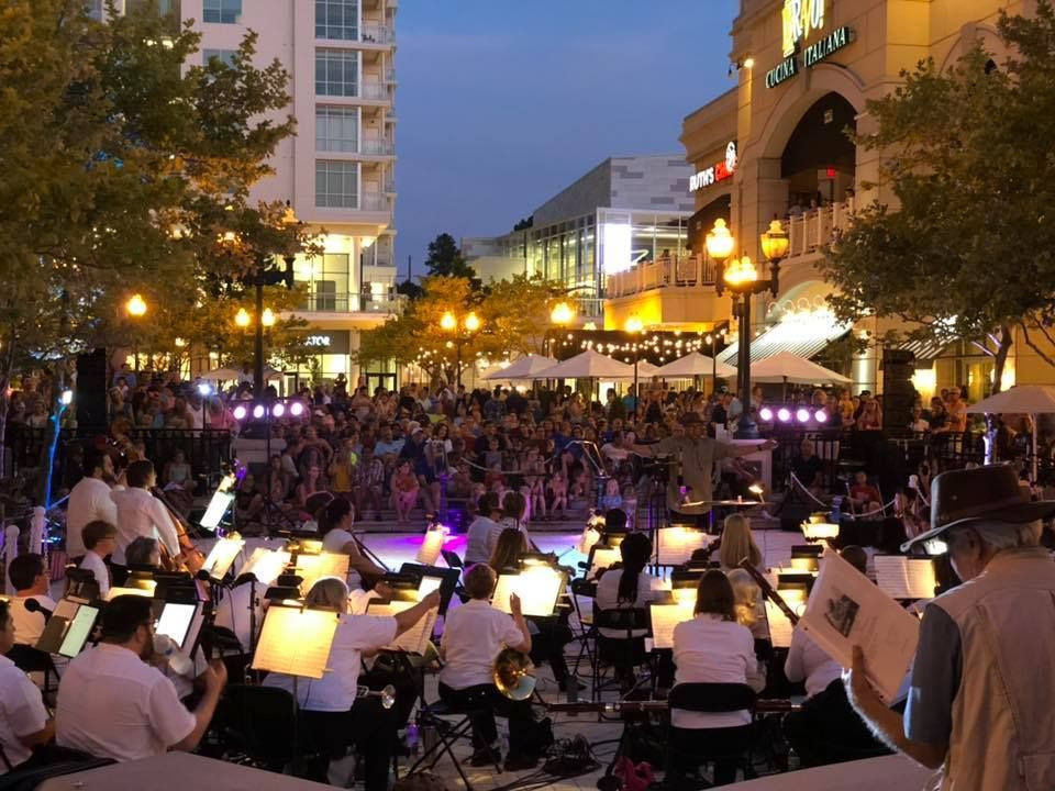 Symphonicity on stage outdoors