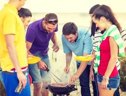 Пляж BBQ