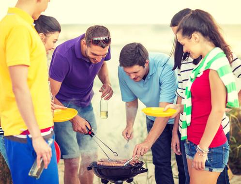 Beach BBQ with Friends