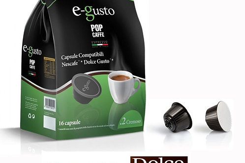 96 Capsule Cremoso Pop Caffè Dolce Gusto Compatibili
