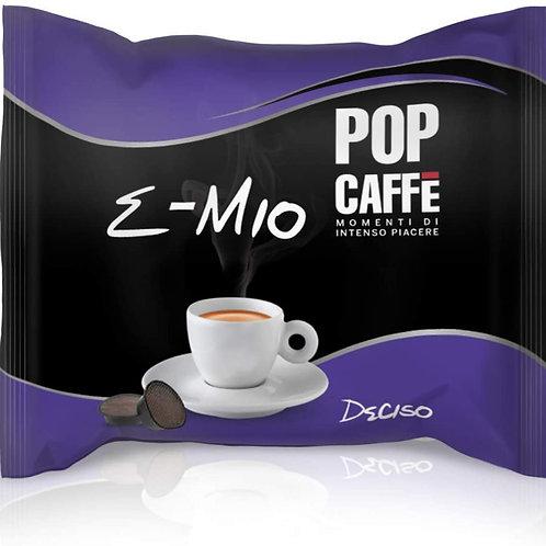 100 Capsule - POP Caffè Deciso Compatibile Lavazza a modo mio