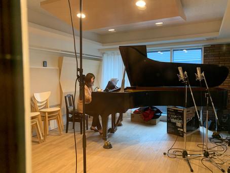 久しぶりのスタジオ録音です