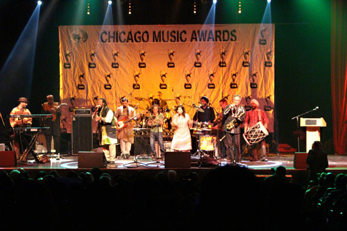Funkadesi at 33rd Chicago Music Awards.j