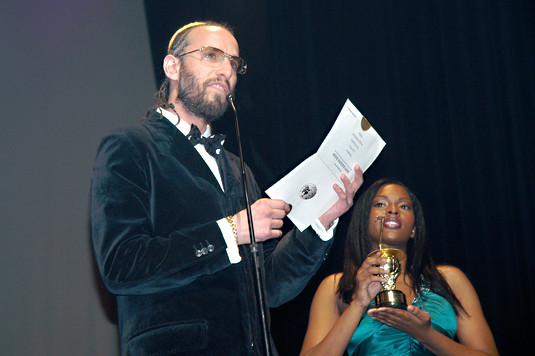 JewJamaican- announcing nominees at IRAW