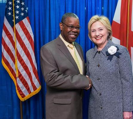 Martin and Hillery Clinton.JPG
