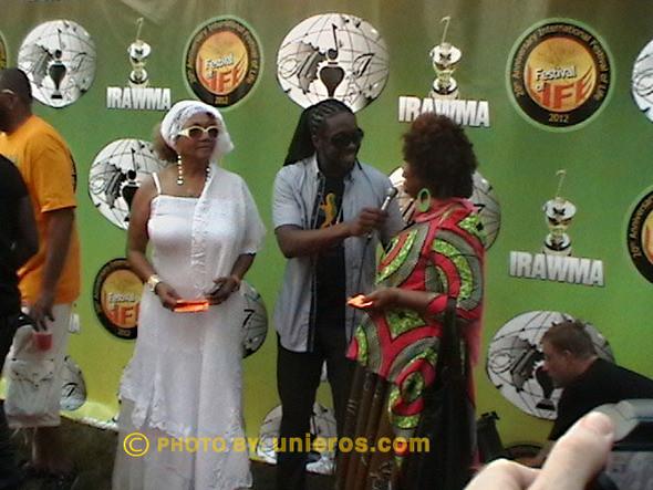 Bob Marley and the Wailers backup singer