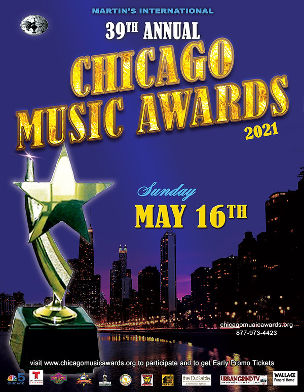 Early teaser 39th Chicago Music Awards f