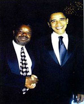 Ephraim Martin _and President Barack Oba
