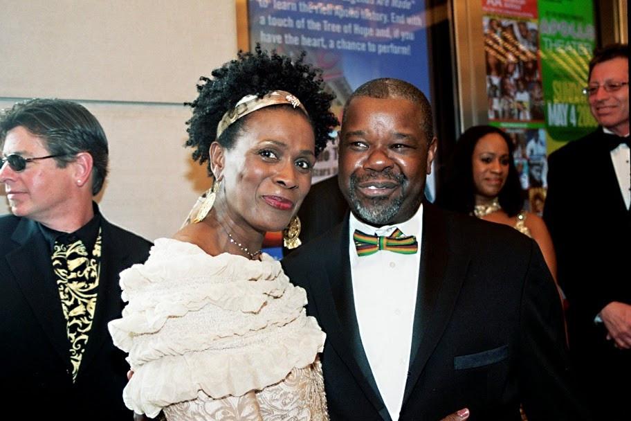 Ephraim and Actress Janet Hubert Fresh P