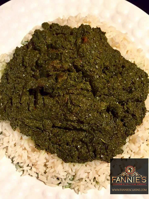 Fried Cassava Leaf