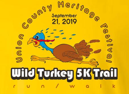 Bored??? Send us a Wild Turkey 5K Logo