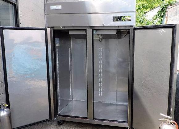 Double Door Stainless Refrigerator