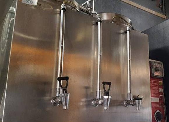 Twin 3 Gallon 3 tank Coffee Tea Urn