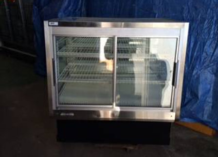 Reverse Glass Display Case Cooler