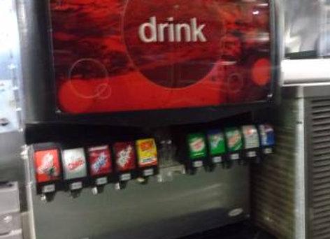 Beverage Dispenser - Fountain Machine Coca-Cola 10 Tap
