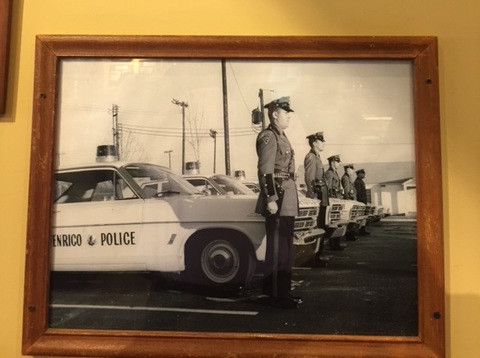 Terrific vintage and localized photos of those who serve like this circa 1962 pic of the Henrico, Va police force