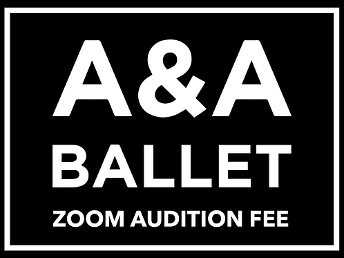 Zoom Audition Fee