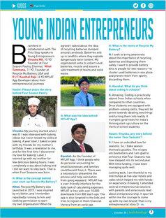 YOUNG INDIAN ENTREPRENEURS