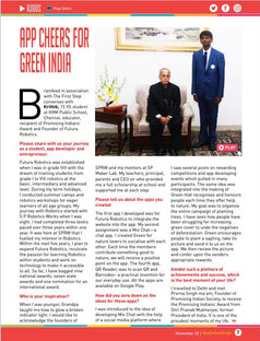 APP CHEERS FOR GREEN INDIA