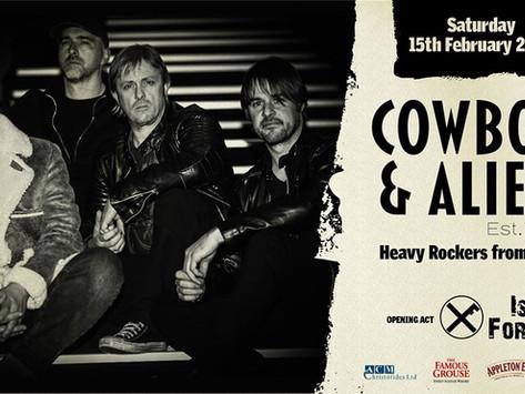 Συνέντευξη με τους COWBOYS & ALIENS
