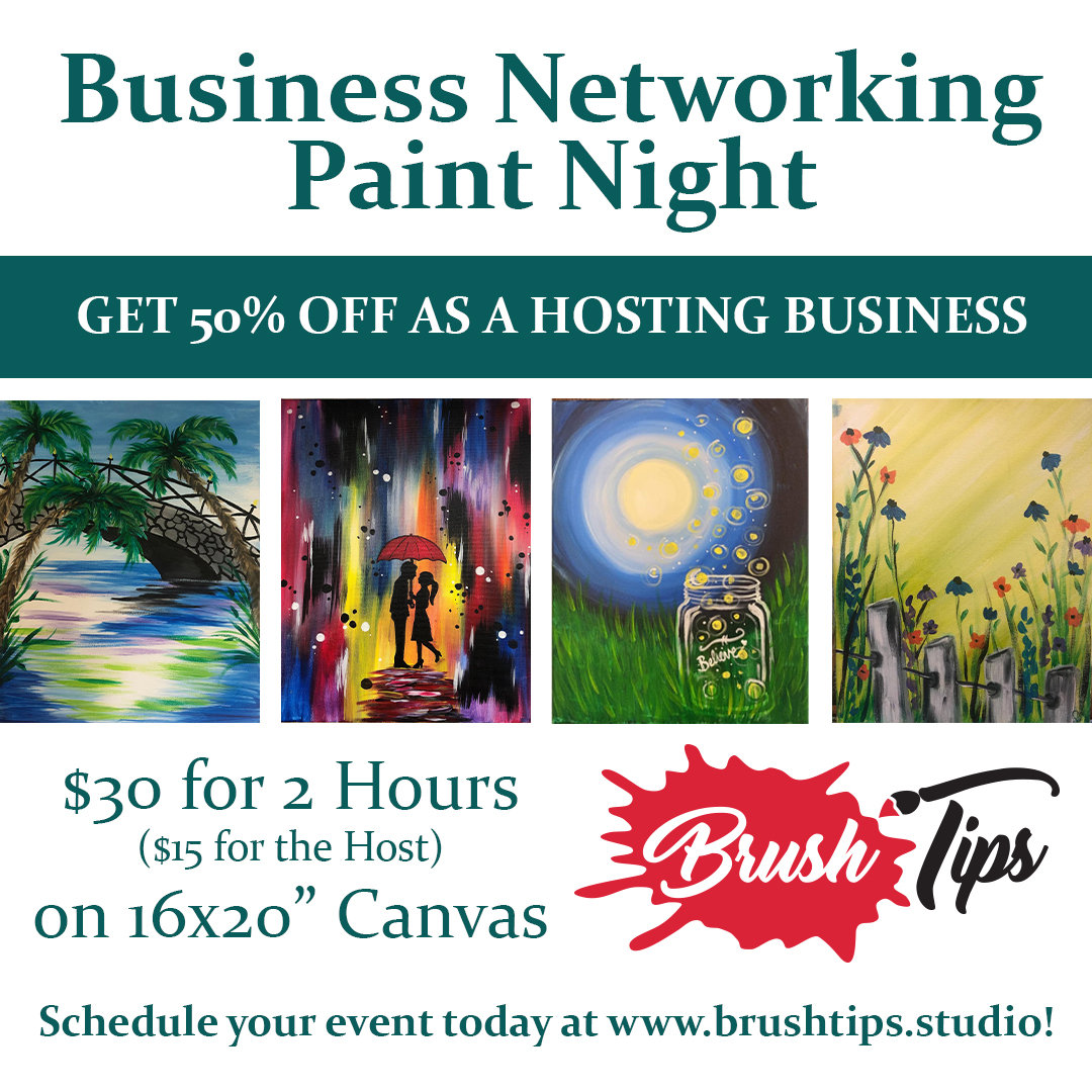 Business Networking Paint Night