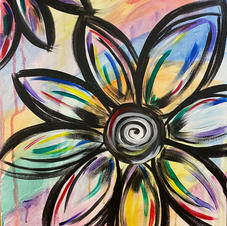 'Watercolor' Flower