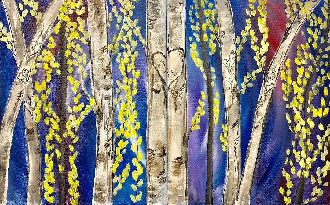 Couples Birch Tree