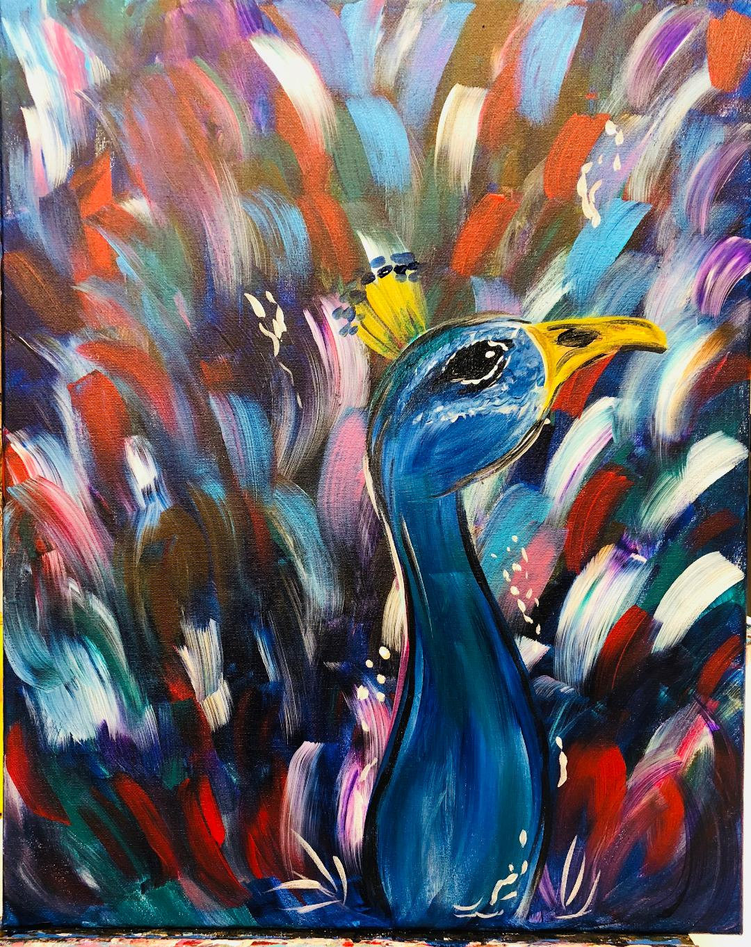 Colorful Peacock (Online)