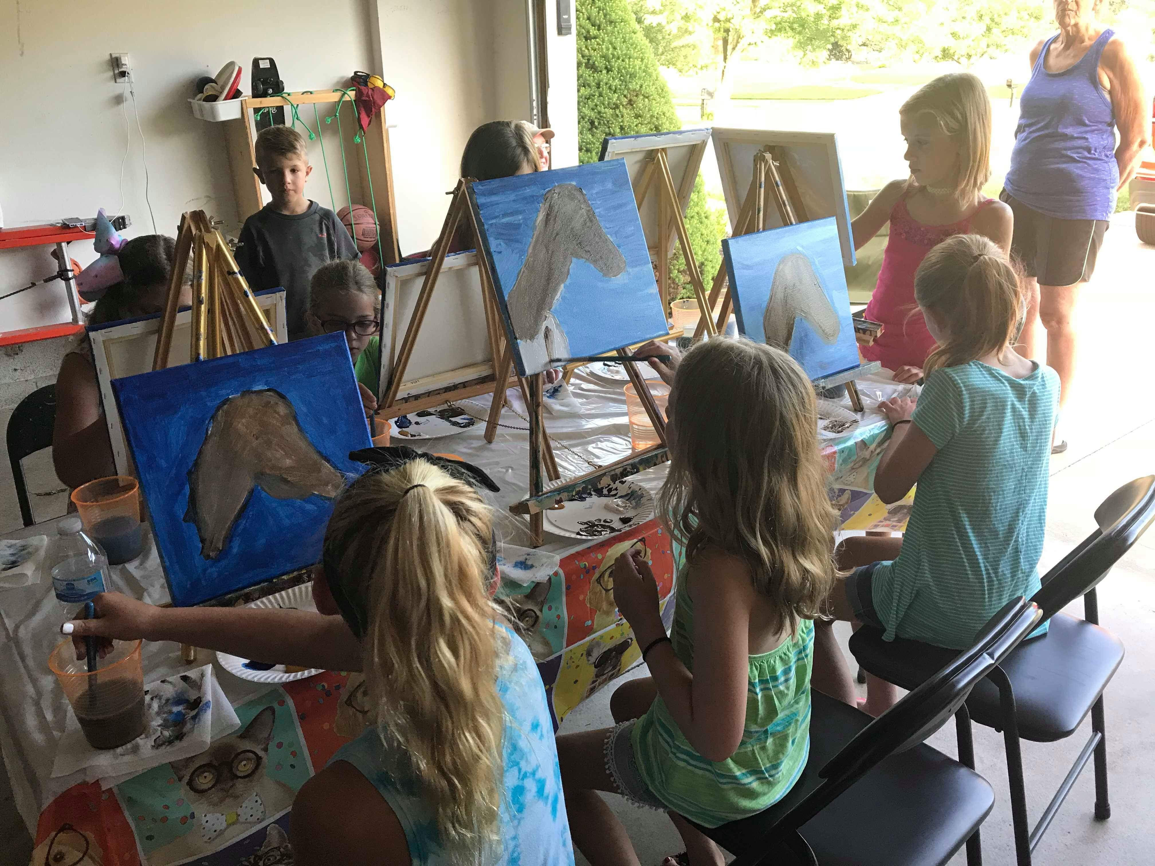 Private Party - Come to You for Painting