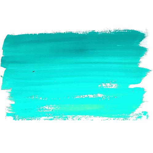2oz Turquoise Acrylic Paint