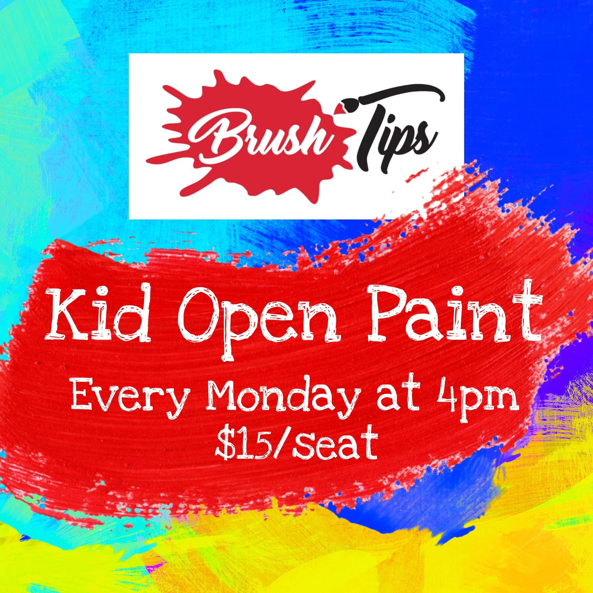 Kid's Open Paint