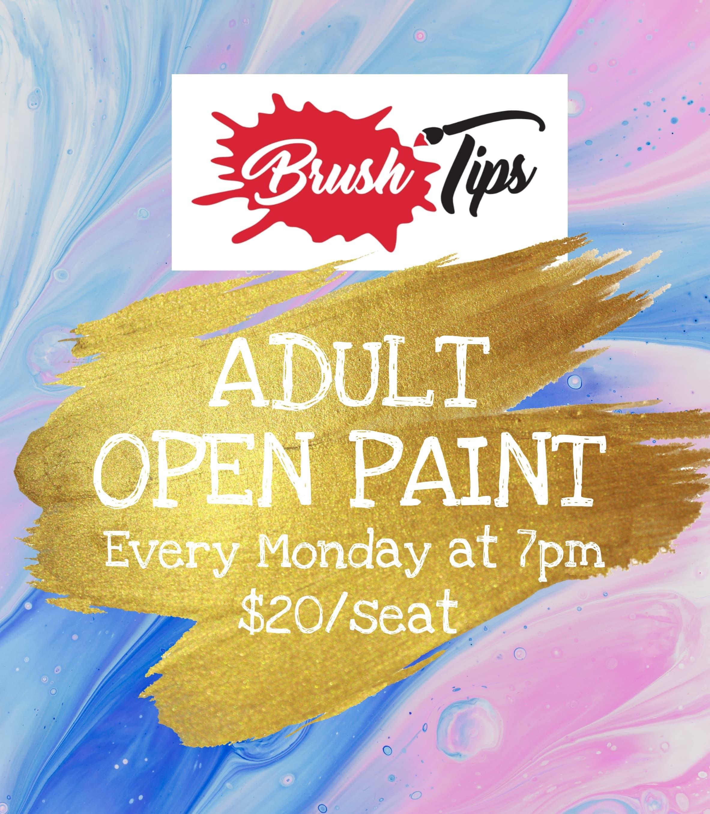 Adult's Open Paint