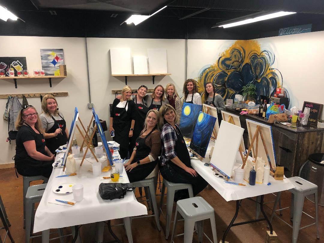 Private Party - Rent Studio for Painting