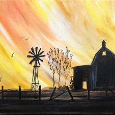Farmlife Sunset