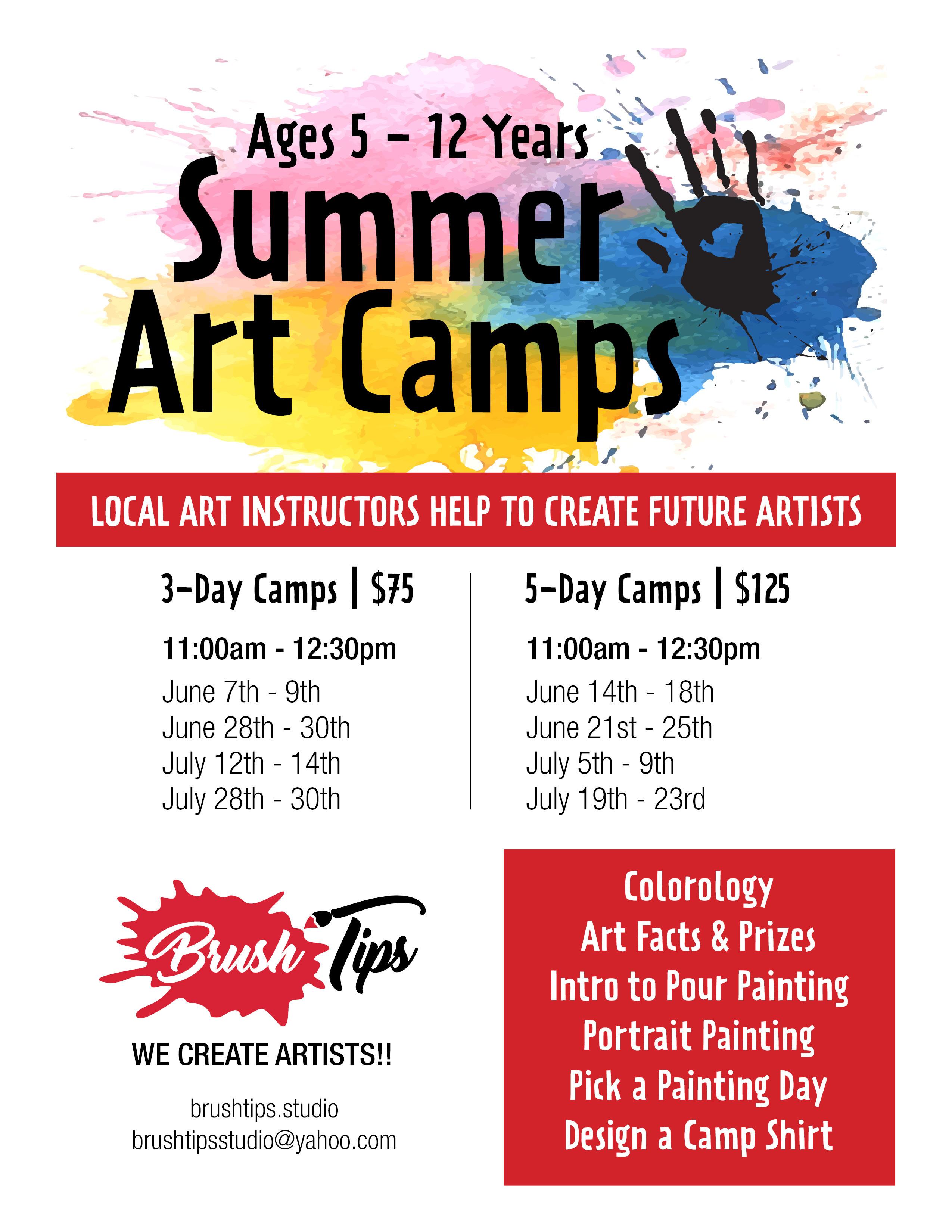 Drop-in Summer Art Camp