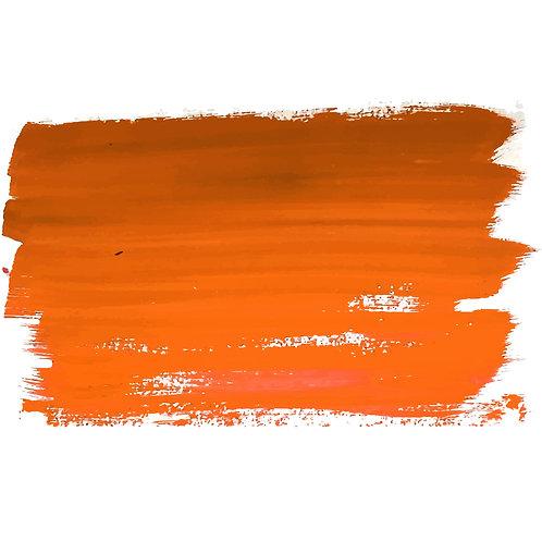2oz Orange Acrylic Paint