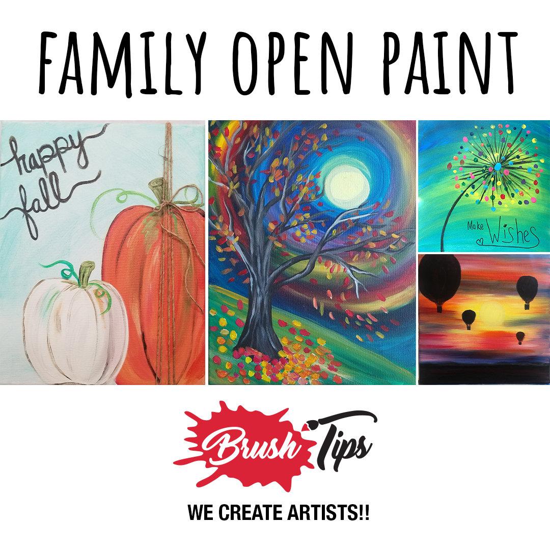 Family Open Paint