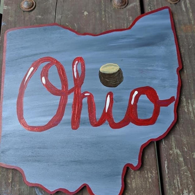 Ohio Painted Sign