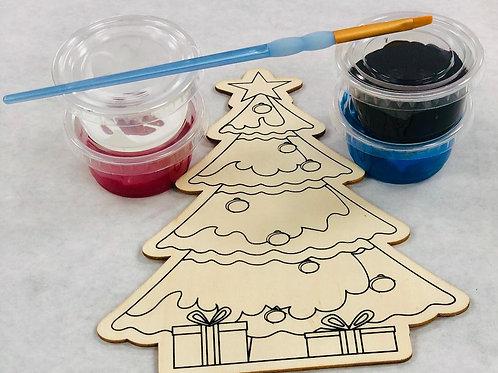 Christmas Tree Paint Kit