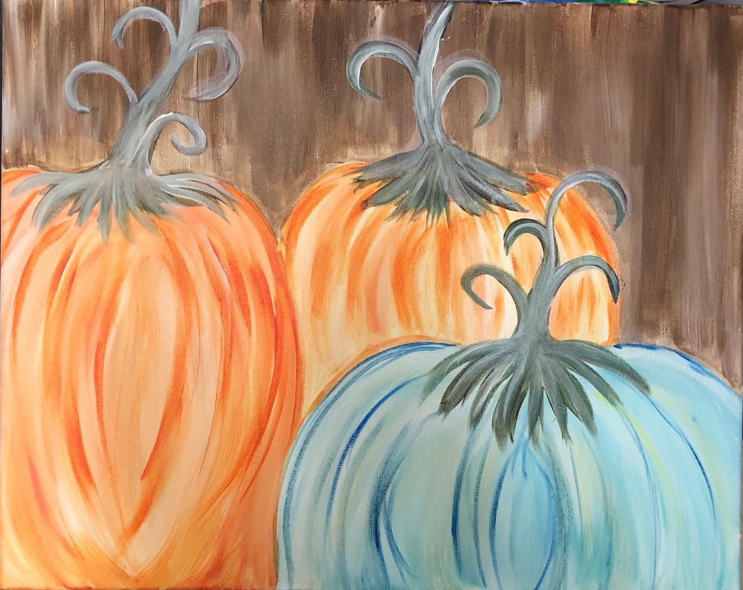 Fancy Fall Pumpkins (Online)