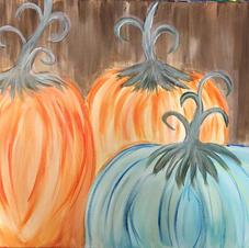 Fancy Fall Pumpkins