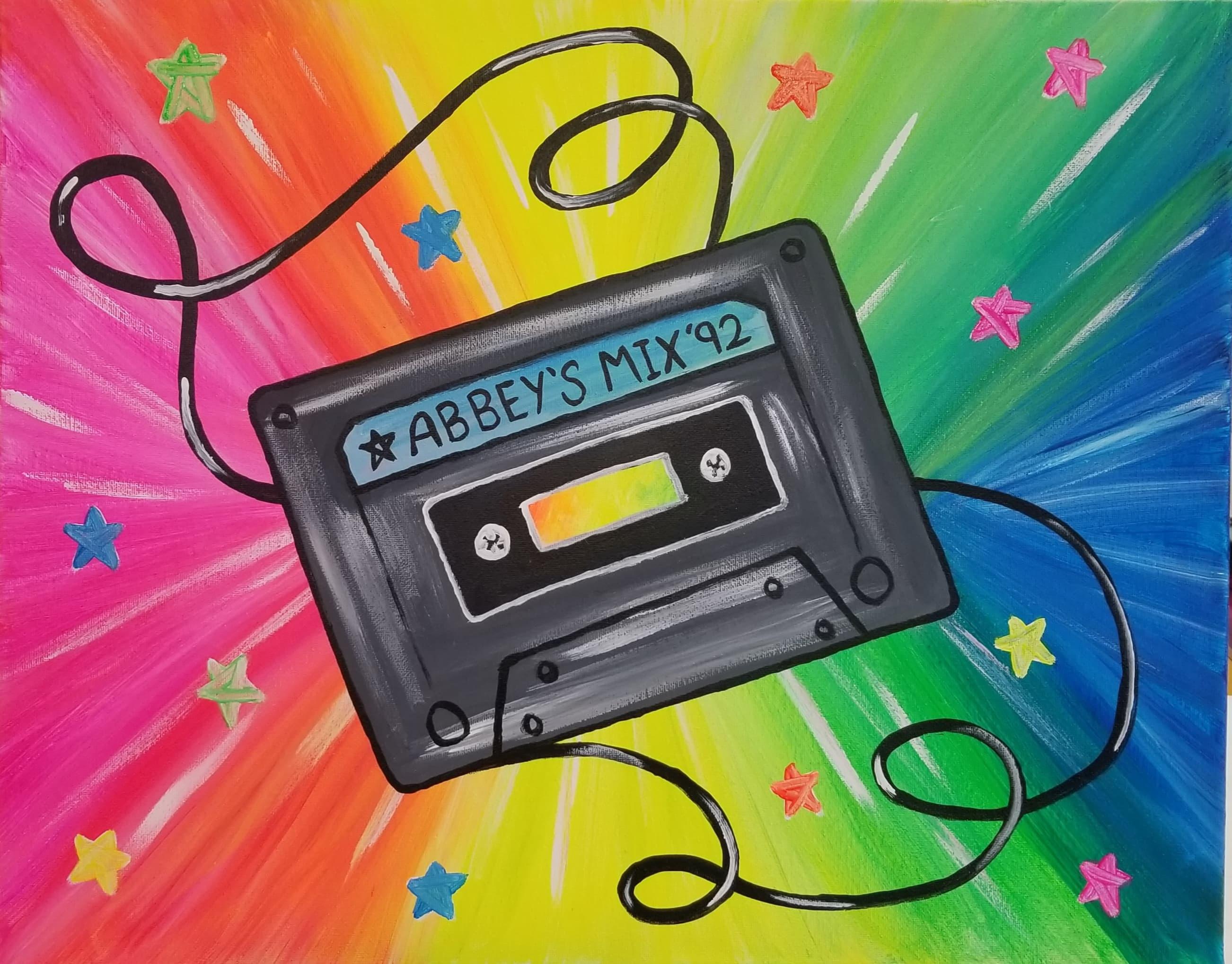 90s Trivia Paint Night