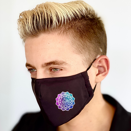 Yoga Print Reusable Face Mask