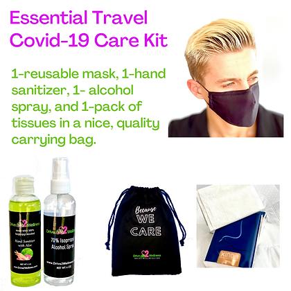 Essential Travel Covid-19 Care Kit