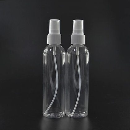 PET Plastic Spray Bottles 4 oz. Travel Set of 4