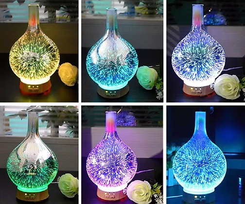 Aromatherapy LED 3D Light Diffuser