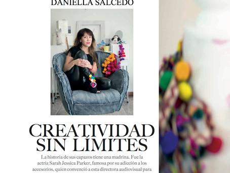 Revista Caras de Lujo : Daniella Salcedo CREATIVIDAD SIN LIMITES