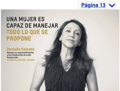 """Rostro Campaña Chevrolet Día de la Mujer: """"Una Mujer es capaz de manejar todo lo que se propone"""""""